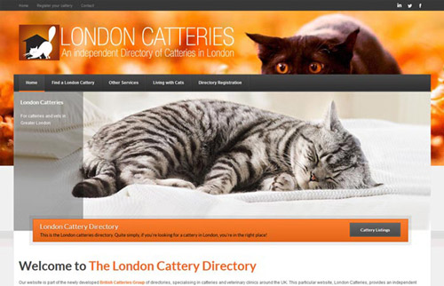 London Cattery Directory