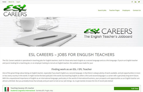 ESL Careers
